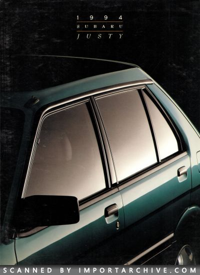 1994 Subaru Brochure Cover