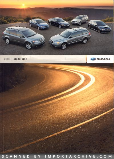 2009 Subaru Brochure Cover