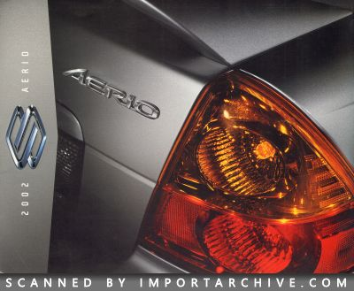 2002 Suzuki Brochure Cover