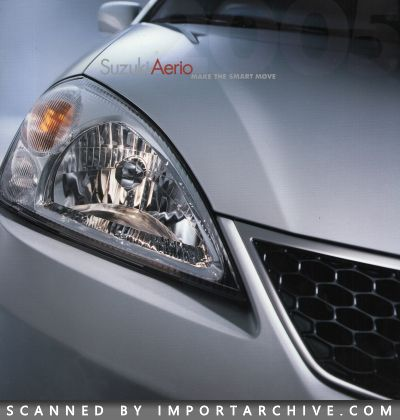 2005 Suzuki Brochure Cover