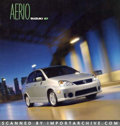 2007 Suzuki Brochure Cover