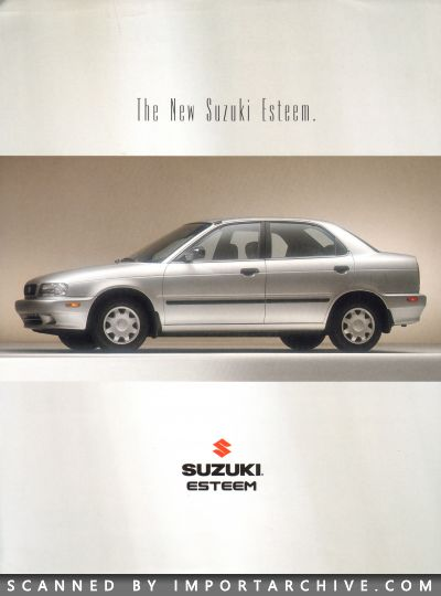 1995 Suzuki Brochure Cover