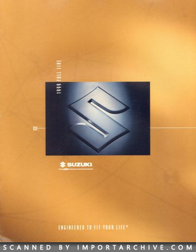 1999 Suzuki Brochure Cover