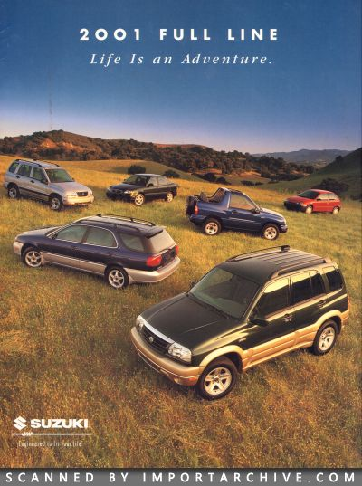 2001 Suzuki Brochure Cover