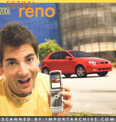 2006 Suzuki Brochure Cover