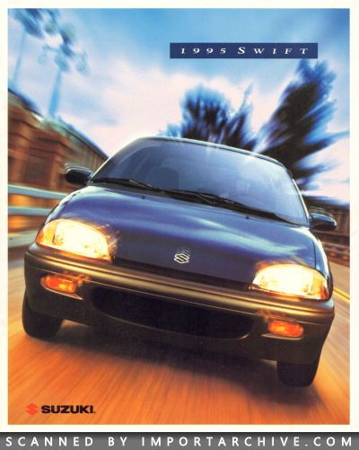 ImportArchive / Suzuki Swift Brochure 1995‑2001 Free Preview