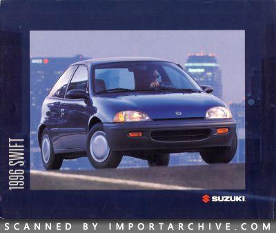 ImportArchive / Suzuki Swift Brochure 1995‑2001 Free Preview