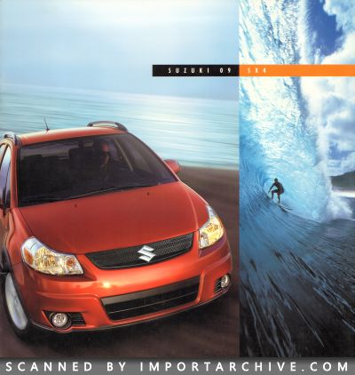 2009 Suzuki Brochure Cover