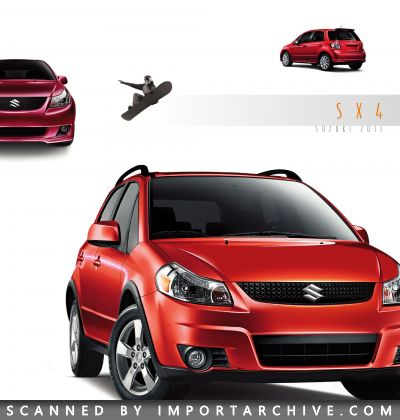 2011 Suzuki Brochure Cover