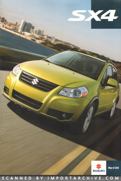2013 Suzuki Brochure Cover