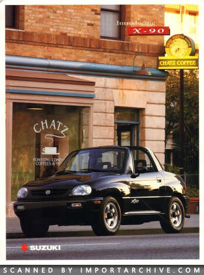 1996 Suzuki Brochure Cover