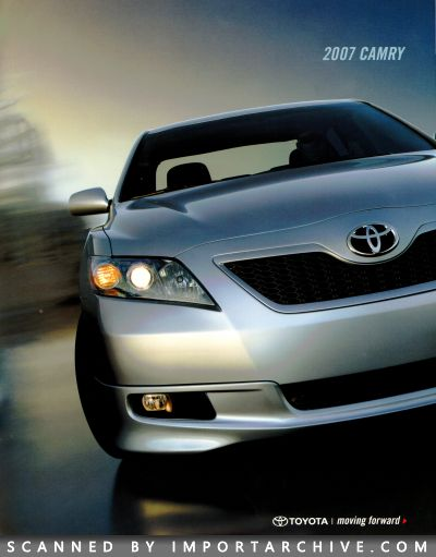 2007 Toyota Brochure Cover