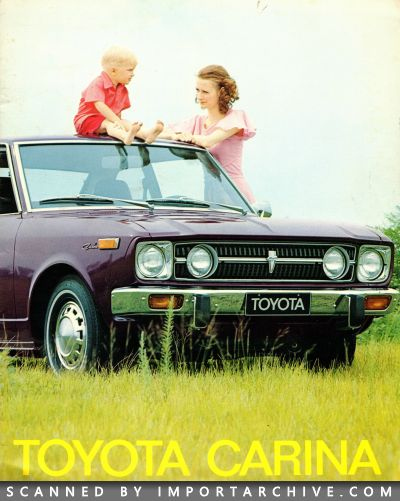 1973 Toyota Brochure Cover