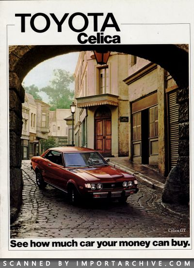 ImportArchive / Toyota Celica Brochure 1971‑1977 Free Preview