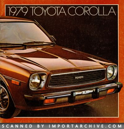 1979 Toyota Brochure Cover