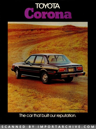 1976 Toyota Brochure Cover