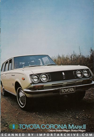 1969 Toyota Brochure Cover