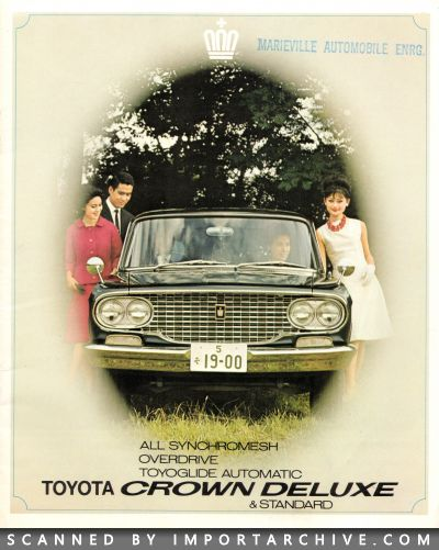 1965 Toyota Brochure Cover