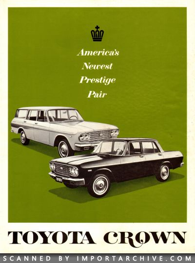 1966 Toyota Brochure Cover