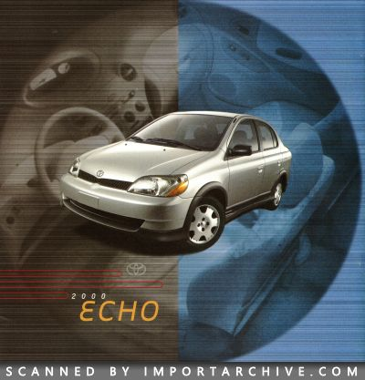 2000 Toyota Brochure Cover
