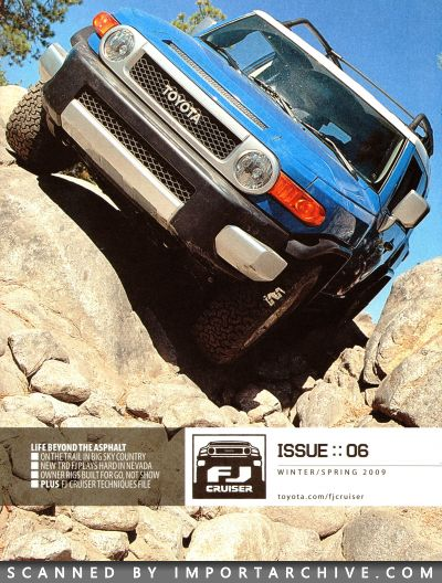 2009 Toyota Brochure Cover