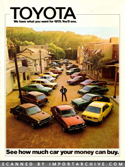 1975 Toyota Brochure Cover