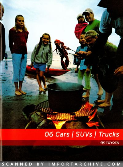 2006 Toyota Brochure Cover