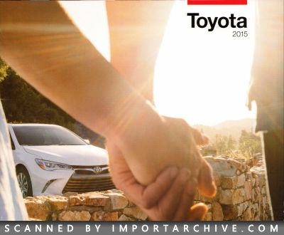 2015 Toyota Brochure Cover
