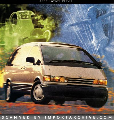 1996 Toyota Brochure Cover