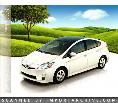 2010 Toyota Brochure Cover