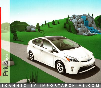 2012 Toyota Brochure Cover