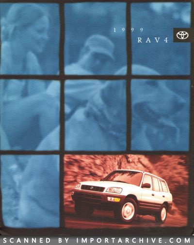 1999 Toyota Brochure Cover