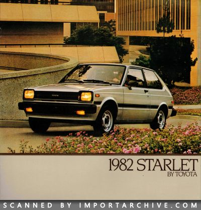 1982 Toyota Brochure Cover