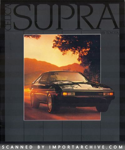 1983 Toyota Brochure Cover