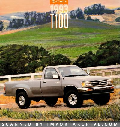 1993 Toyota Brochure Cover