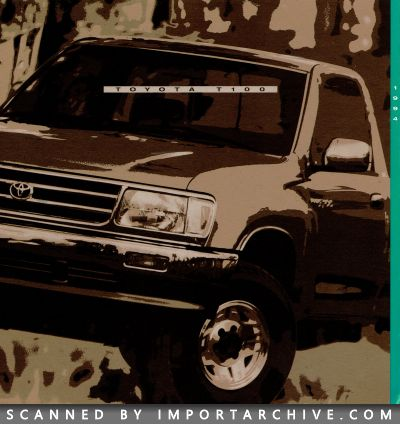 1994 Toyota Brochure Cover