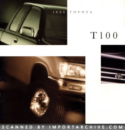 1995 Toyota Brochure Cover