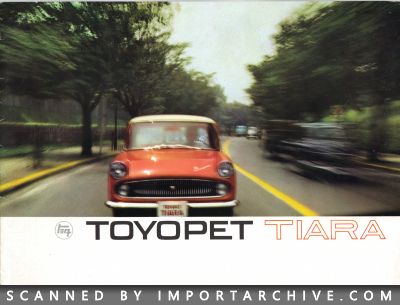 1963 Toyota Brochure Cover