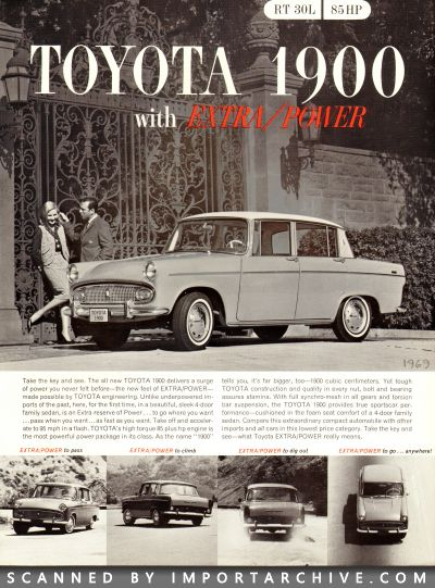 1964 Toyota Brochure Cover