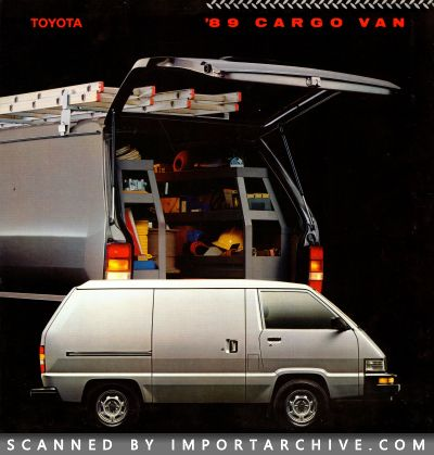 1989 Toyota Brochure Cover