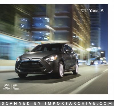 2017 Toyota Brochure Cover