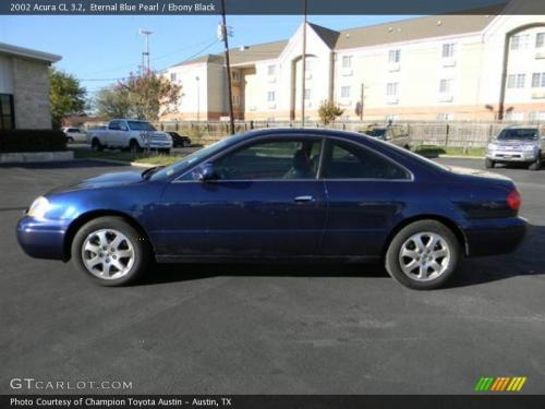 Photo Image Gallery & Touchup Paint: Acura CL in Eternal Blue Pearl  (B96P)  YEARS: 2002-2003