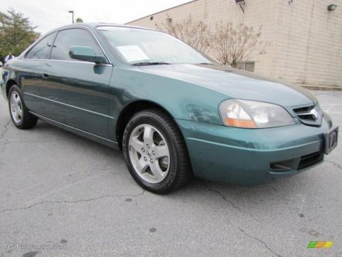 Photo Image Gallery & Touchup Paint: Acura CL in Noble Green Pearl  (G508P)  YEARS: 2002-2003