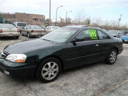 Photo Image Gallery & Touchup Paint: Acura CL in Dark Emerald Pearl  (G87P)  YEARS: 2001-2001