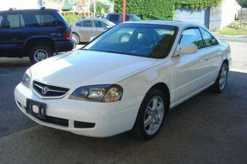 Photo Image Gallery & Touchup Paint: Acura CL in Taffeta White   (NH578)  YEARS: 2001-2003
