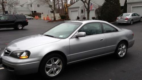 Photo Image Gallery & Touchup Paint: Acura CL in Satin Silver Metallic  (NH623M)  YEARS: 2001-2003