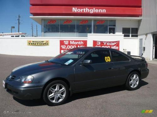 Photo Image Gallery & Touchup Paint: Acura CL in Anthracite Metallic   (NH643M)  YEARS: 2003-2003