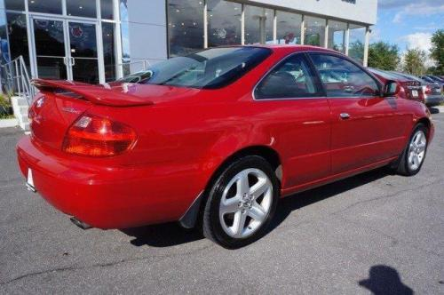 Photo Image Gallery & Touchup Paint: Acura CL in San Marino Red  (R94)  YEARS: 2001-2003