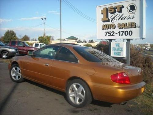 Photo Image Gallery & Touchup Paint: Acura CL in Sundance Gold Pearl  (YR529P)  YEARS: 2001-2001