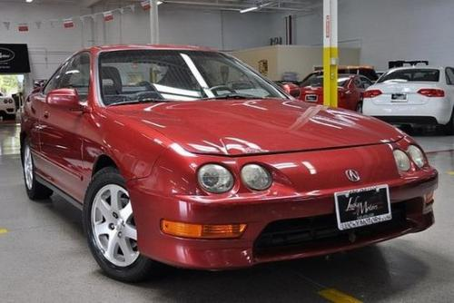 Photo Image Gallery & Touchup Paint: Acura Integra in Cayenne Red Metallic  (R505P)  YEARS: 1998-2000